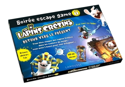 SOIREE ESCAPE GAME - LAPINS CRETINS